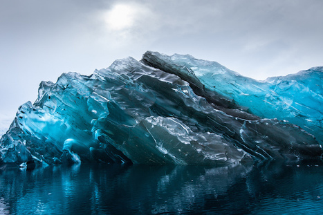 Vivid Photos of a Rare Flipped Iceberg in Antarctica | Antarctica | Scoop.it
