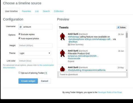 How to show recent tweets on wordpress? | Google | Scoop.it