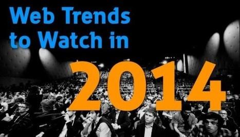 Tendances Web à surveiller en 2014 ...!!!   tendances de consommation   Scoop.it
