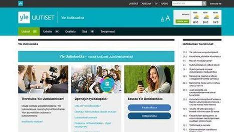 Uusi sovellus muuttaa Ylen tv-uutiset opetusmateriaaliksi | Erityistä oppimista | Scoop.it