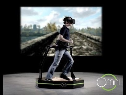 Step Aside Mario Kart — Virtual Reality Treadmills Are The Newest In Fitness Gaming | Fitness and nutrition | Scoop.it