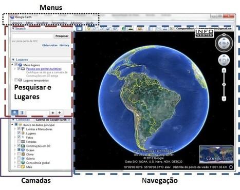 Como usar o Google Earth | #GoogleEarth | Scoop.it