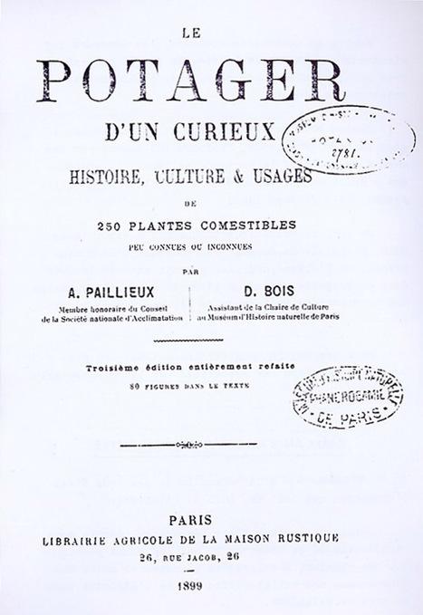 LIVRE PDF: Le potager d'un curieux de 1899   (Culture)s (Urbaine)s   Scoop.it