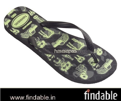 Buy 4 Nite Black/Phosphorescent Rubber Footwear | Fashion Accessories | Scoop.it