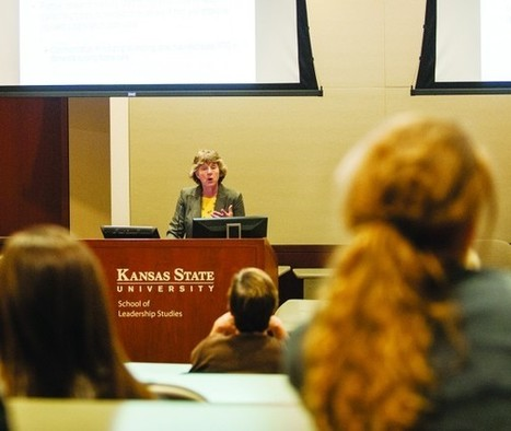 Speaker talks to students, community about communication with the elderly - K-State Collegian | Technology | Scoop.it