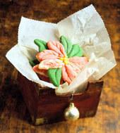 Christmas Flower Cookies Recipe | Christmas Goodies | Scoop.it