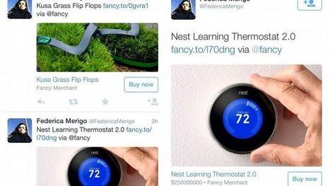 Un bouton «Achat immédiat» fait son apparition sur Twitter | Digital et réseaux sociaux | Scoop.it