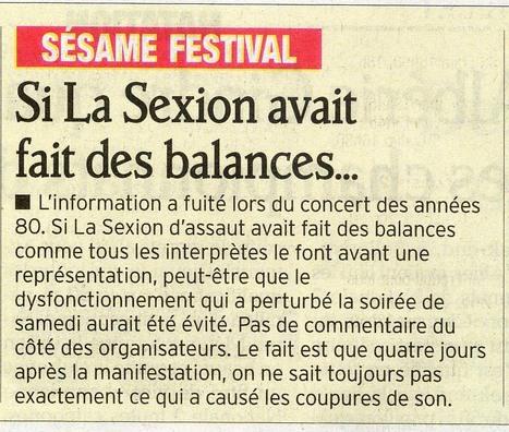 Sésame Festival ! Article du Dauphiné Libéré 3 juillet | Montélimar Agglo Festival 2014 | Scoop.it