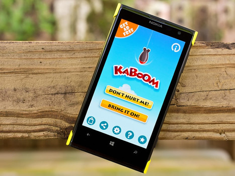 Test your math skills with the Windows Phone game Kaboom - Windows Phone Central | Tech News and Interesting Tech Insights | Scoop.it