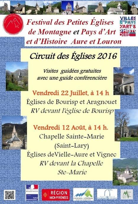 Visite des églises de Bourisp et d'Aragnouet le 22 juillet | Christian Portello | Scoop.it