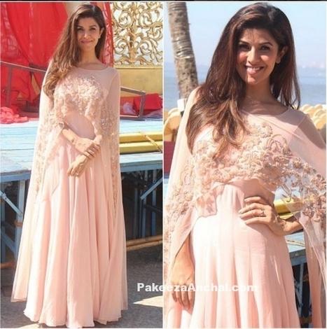 Nimrat Kaur in Malasa Designer Pink dress at Airlift success meet | Indian Fashion Updates | Scoop.it