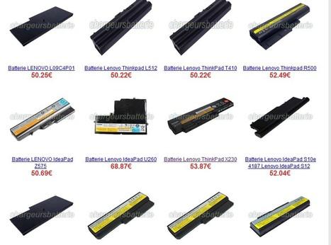 Li-ion Batterie Lenovo et Chargeur Lenovo d'ordinateur portable.   chargeursbatterie   Scoop.it