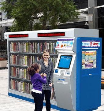 Une machine fournit des livres dans les zones sans bibliothèque   Actualité bibliothèques-archives   Scoop.it