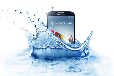 Samsung prévoit de sortir un Galaxy S4 qui sera resistant à l'eau et à la poussière | Geeks | Scoop.it