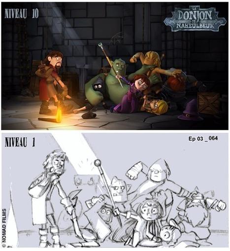 Le Donjon de Naheulbeuk la série d'animation - Le Geek C'est Chic | Le Donjon de Naheulbeuk | Scoop.it