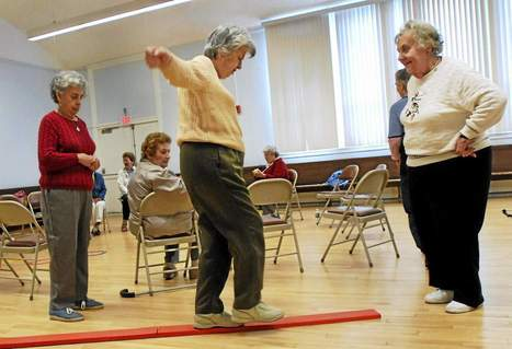 Tripping seniors is a new technique in studying fall prevention - New Haven Register | Fall prevention in older adults | Scoop.it