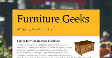 Furniture Geeks | Furniture | Scoop.it