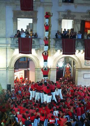 Sant Joan, fiesta mayor de Valls | Castells | Scoop.it