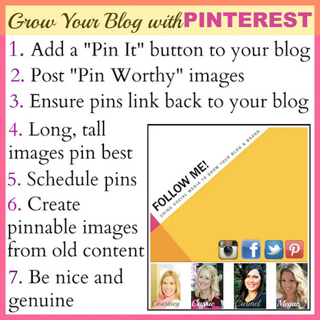 Honey We're Home: Using Social Media/Pinterest to Grow Your Blog & Brand | Pinterest | Scoop.it