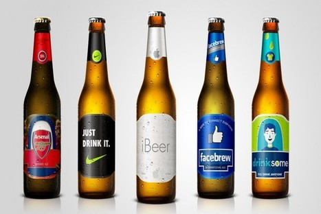 Famous Brand Identities Transform into Beers | digital marketing strategy | Scoop.it
