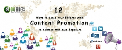 12 Ways to Scale Your Efforts with Content Promotion to Achieve Maximum Exposure | What is Search Engine Optimization? | Scoop.it