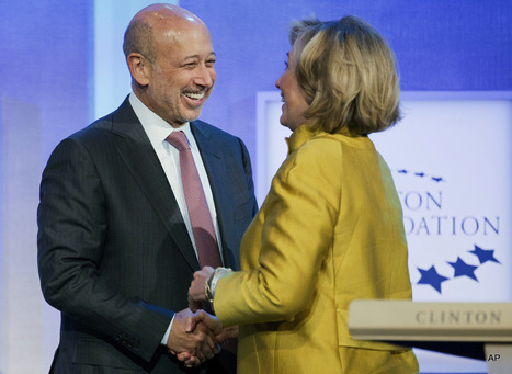 Goldman Sachs Endorses Hillary Clinton For President | Global politics | Scoop.it