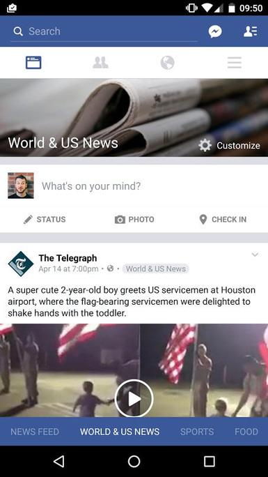 Importante mise à jour du fil d'actualité Facebook en test actuellement ! | Internet world | Scoop.it