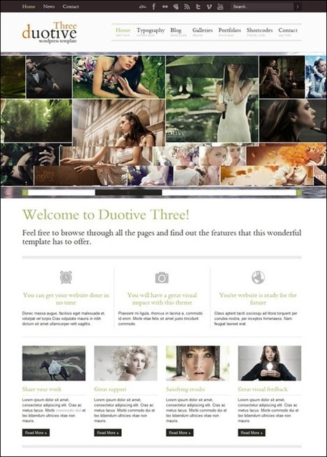 65+ Top WordPress Photography Themes | Stockturn | Scoop.it
