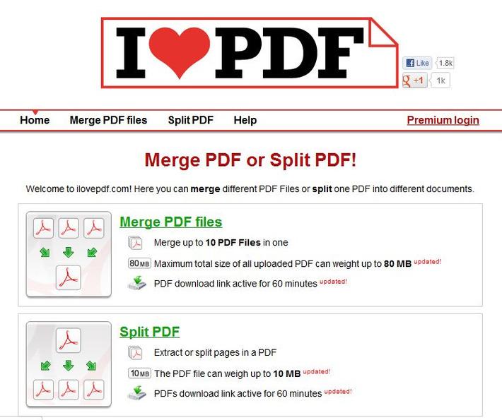 Gratis online PDF-documenten samenvoegen of splitsen | Edu-Curator | Scoop.it