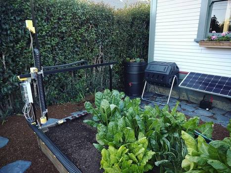 Arduino Blog – FarmBot is an open-source CNC farming machine | FabLab - DIY - 3D printing- Maker | Scoop.it