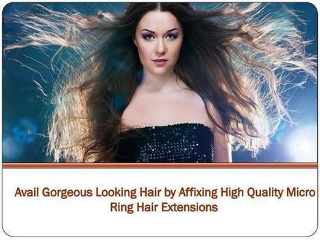 Hair extension micro rings   Hair Extensions London   Scoop.it