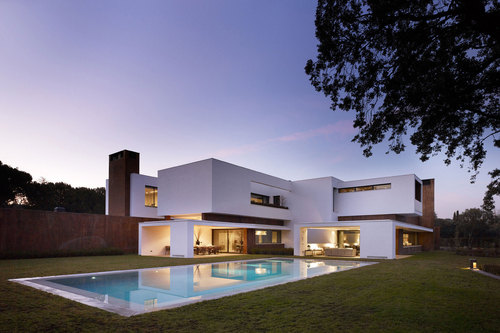 Superbe Maison Contemporaine House In La Moraleja Par Dahl