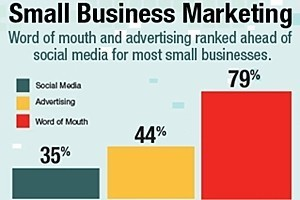 Small Businesses Tepid on Social Media, Prefer WOM and Advertising | The Perfect Storm Team | Scoop.it