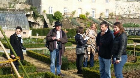 8 journalistes de la presse nationale descendent dans le grand jardin de l'Anjou | Tourisme | Scoop.it