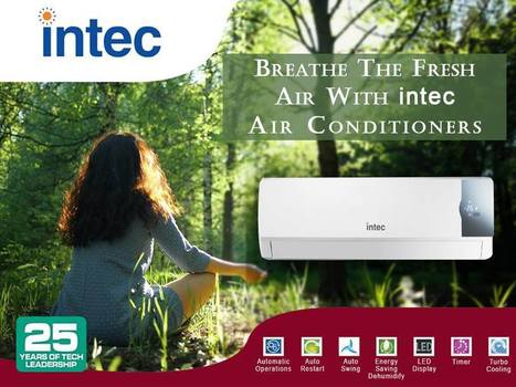 Why the Demand for Split Air Conditioners is increasing? - Intec Blog | Intec Home Appliances | Scoop.it