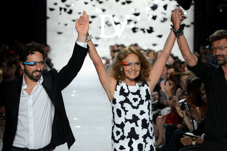 DVF designs frames for GOOGLE GLASS to be sold on NET-A-PORTER | Fashion | Scoop.it