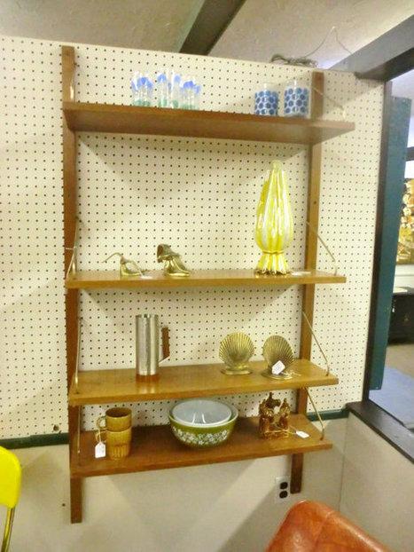 Vintage wall mounted shelves CADO   Mid Century   Scoop.it