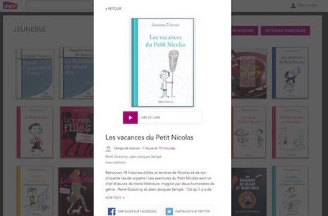SNCF relance son offre de lecture e-LIVRE, en totale gratuité | questionVeille du Service des Ressources et de l'Innovation | Scoop.it