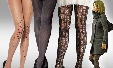 Statement tights that will give you Carole Middleton's perfectly patterned pins - Daily Mail   Stocking Exchange hosiery shops   Scoop.it