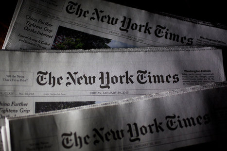 New York Times Posts Declines in Both Print, Digital Advertising | Business Video Directory | Scoop.it