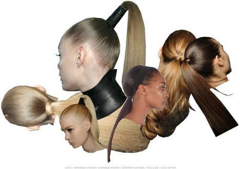 Peinados: las colas de caballo extra-altas - BELLEZA PURA | Cortes y Peinados | Scoop.it