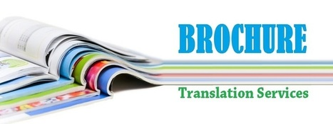 Do You Have a Brochure That Needs Translation? | Translations | Scoop.it