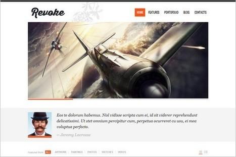 7 Awesome WordPress Themes from Tesla Themes - WP Smashing Themes | Wordpress | Scoop.it