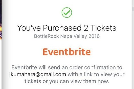 Eventbrite To Sell Tickets Directly Through Facebook Too | Focus on Green Meetings & Digital Innovation | Scoop.it
