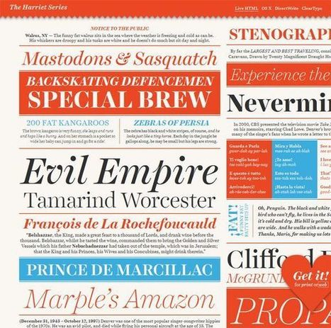 How Many Fonts Does a Designer Really Need? | web & design | Scoop.it