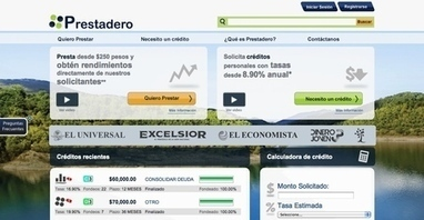 Prestadero Surpasses 11,000 Registered Users in 2013   Innovation in the banking and financial services industry   Scoop.it