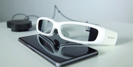 The new Sony SmartEyeglass - a Google Glass competitor in the making | HMD | Scoop.it