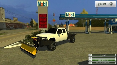 2002 Duramax with Snow Plow Mod | FS2013Mods | Farming Simulator 2013 Mods | Scoop.it
