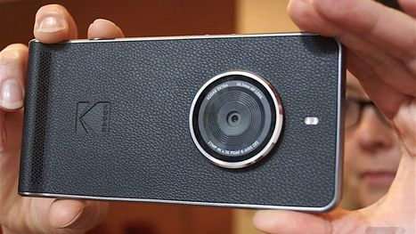 Kodak's new Ektra smartphone would rather just be a camera | Heron | Scoop.it