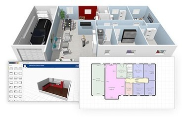 Logiciel professionnel gratuit HomeByMe Fr 2013 Licence gratuite projets habitat et aménagement d'espaces en 3D | training | Scoop.it